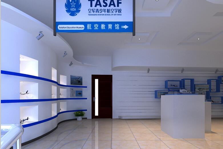 企业展厅设计,展示厅设计,西安展厅设计