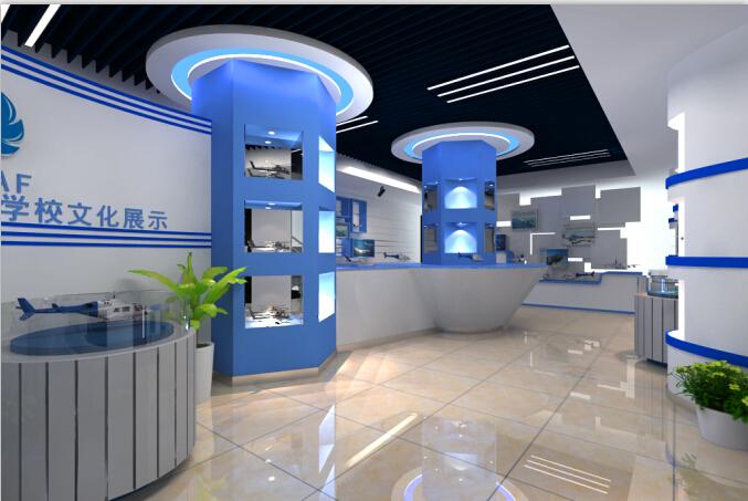 企业展厅设计,西安展厅设计