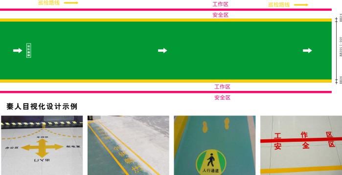 车间地面划线